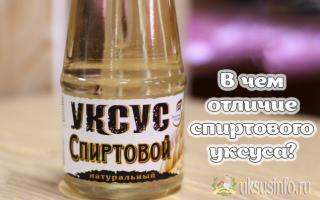 Спиртовой уксус: состав, отличия и применение в быту