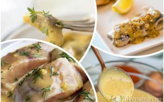 Легендарная заправка для селедки с горчицей и уксусом