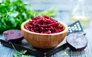Подборка пошаговых рецептов салата из свеклы с уксусом