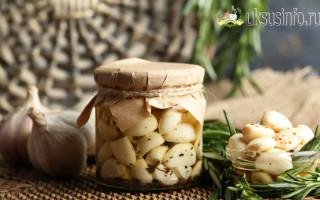 Как вкусно мариновать чеснок в уксусе в домашних условиях