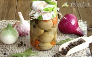 Шампиньоны маринованные с уксусом в домашних условиях: вкусные рецепты