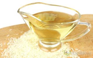 Чем можно заменить рисовый уксус в домашних условиях?