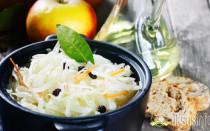Салат из капусты и моркови с уксусом: лучшие рецепты