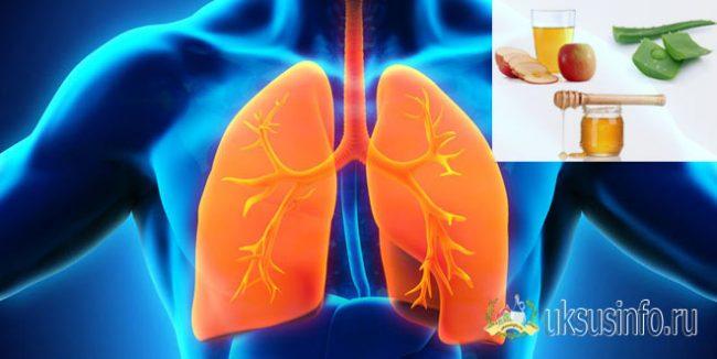 При астме и других болезнях дыхательных путей