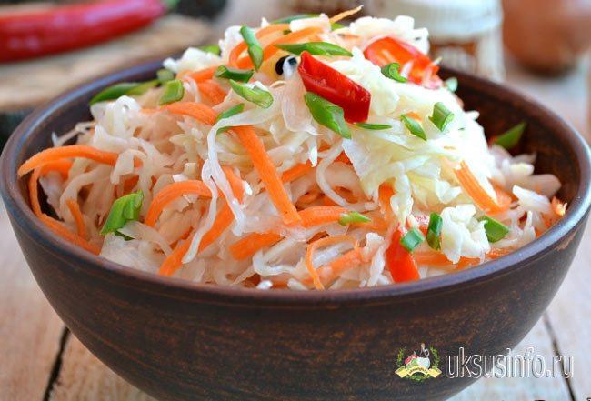 Лучшие рецепты маринованной капусты