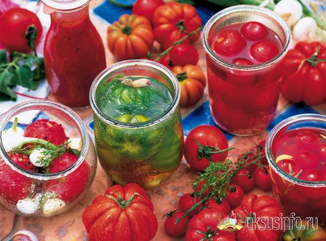 Подборка рецептов маринованных помидоров с уксусом