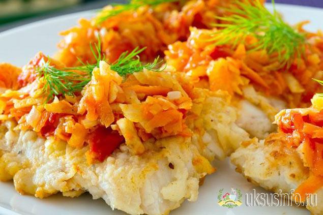 Маринад с морковью, луком и уксусом