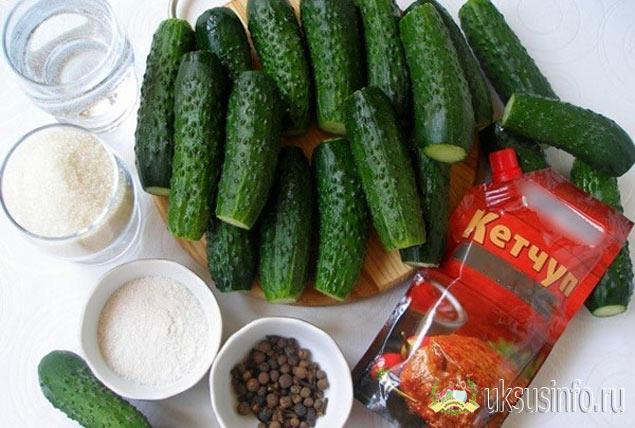 Заготовка с кетчупом