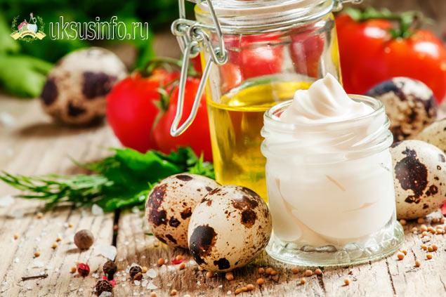 Рецепт на перепелиных яйцах