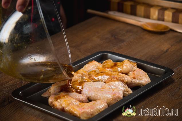 Маринад для курицы с бальзамиком