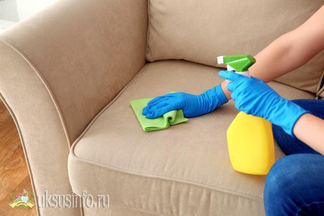 Убрать запах с помощью уксуса