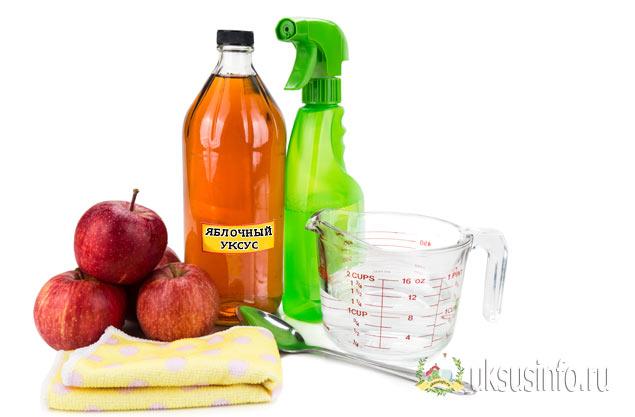 яблочный уксус для защиты от клопов