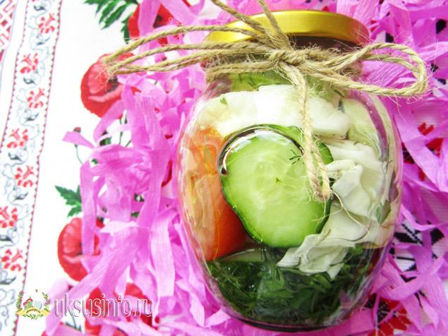 Вкуснейшие маринованные овощи в уксусе на зиму