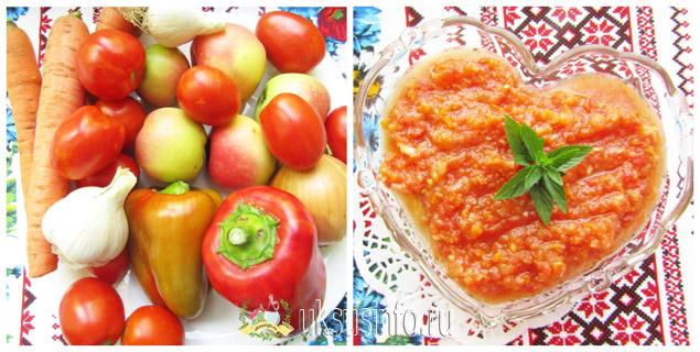 Рецепт с добавлением яблок