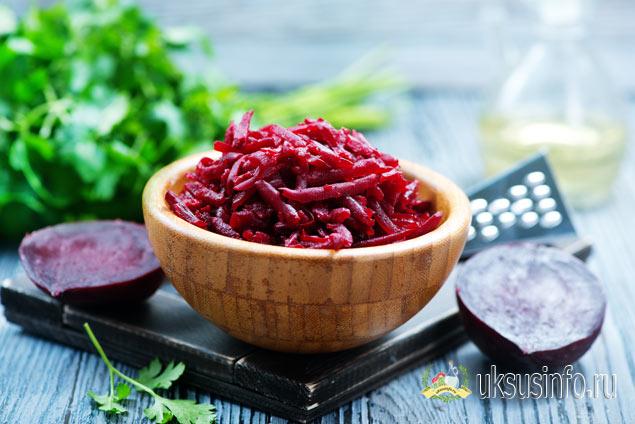 Салат из свеклы и уксуса